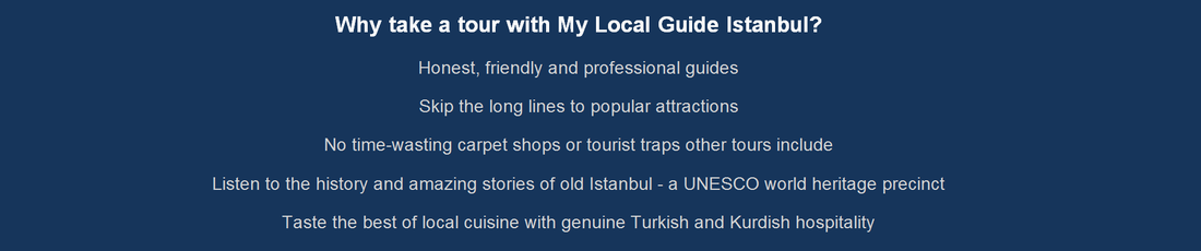 Tours of Istanbul with no carpet shops